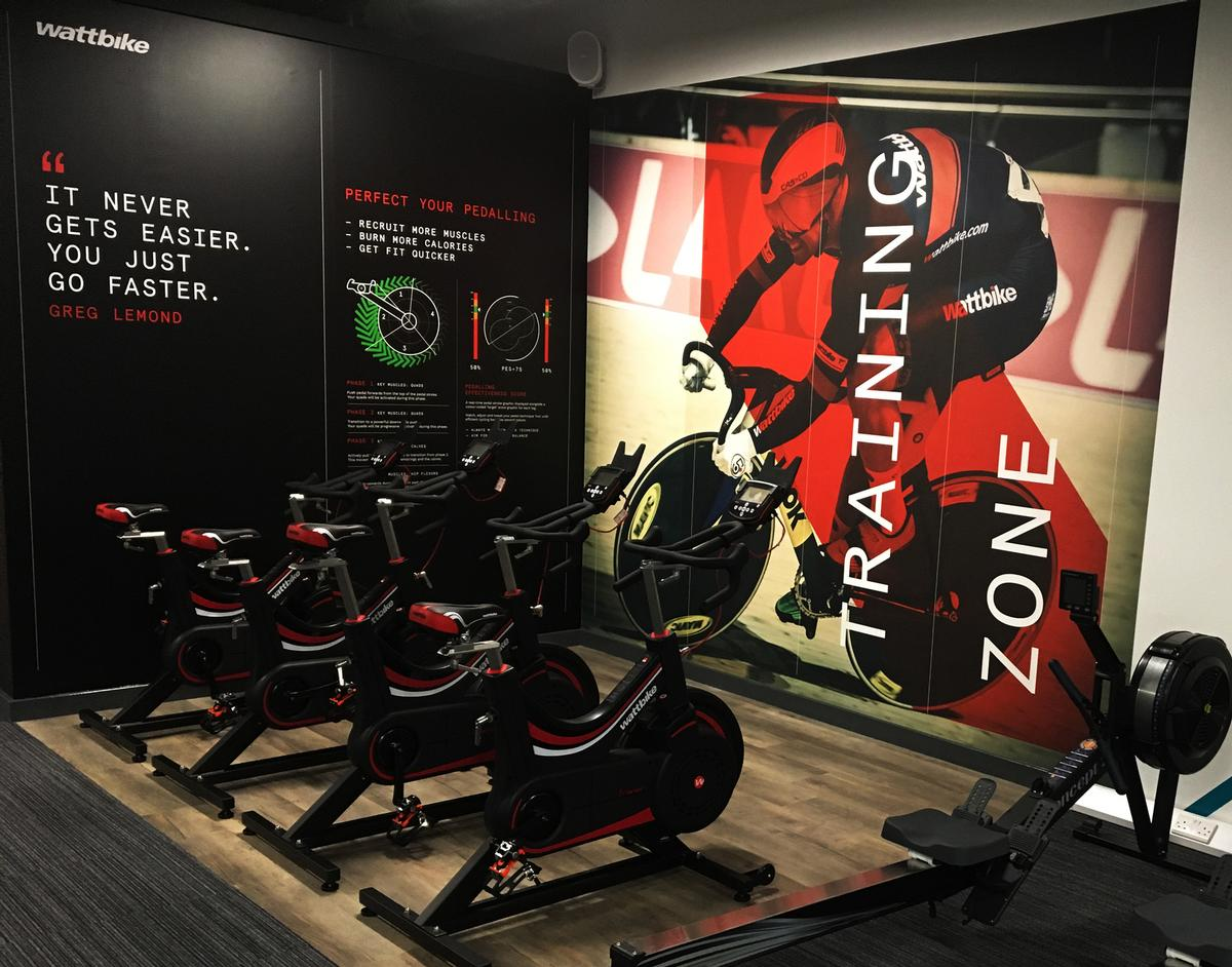The Wattbike Zone is designed to elevate PureGym from a budget gym to a boutique-style facility with designated performance-areas