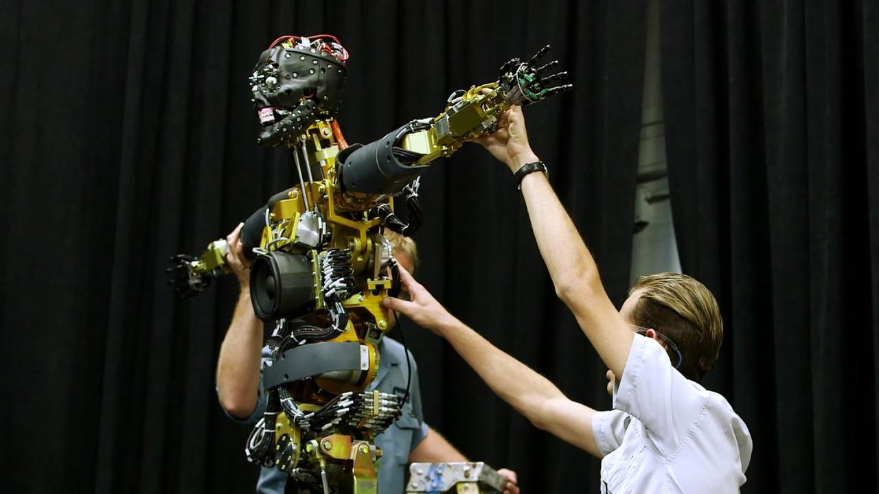 A1000 advanced robotics is the next evolution of the A100 Audio-Animatronic figures that were first introduced by Walt Disney Imagineering in the mid-1980s