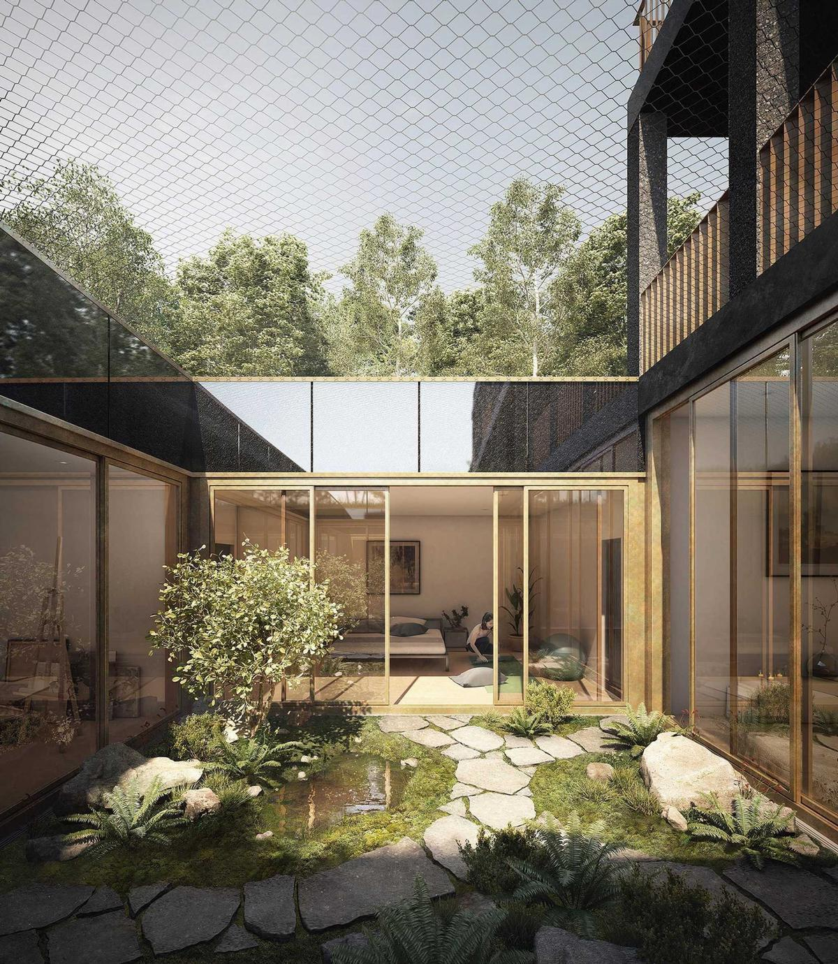 The residences will be located in Munich. / Courtesy of Euroboden