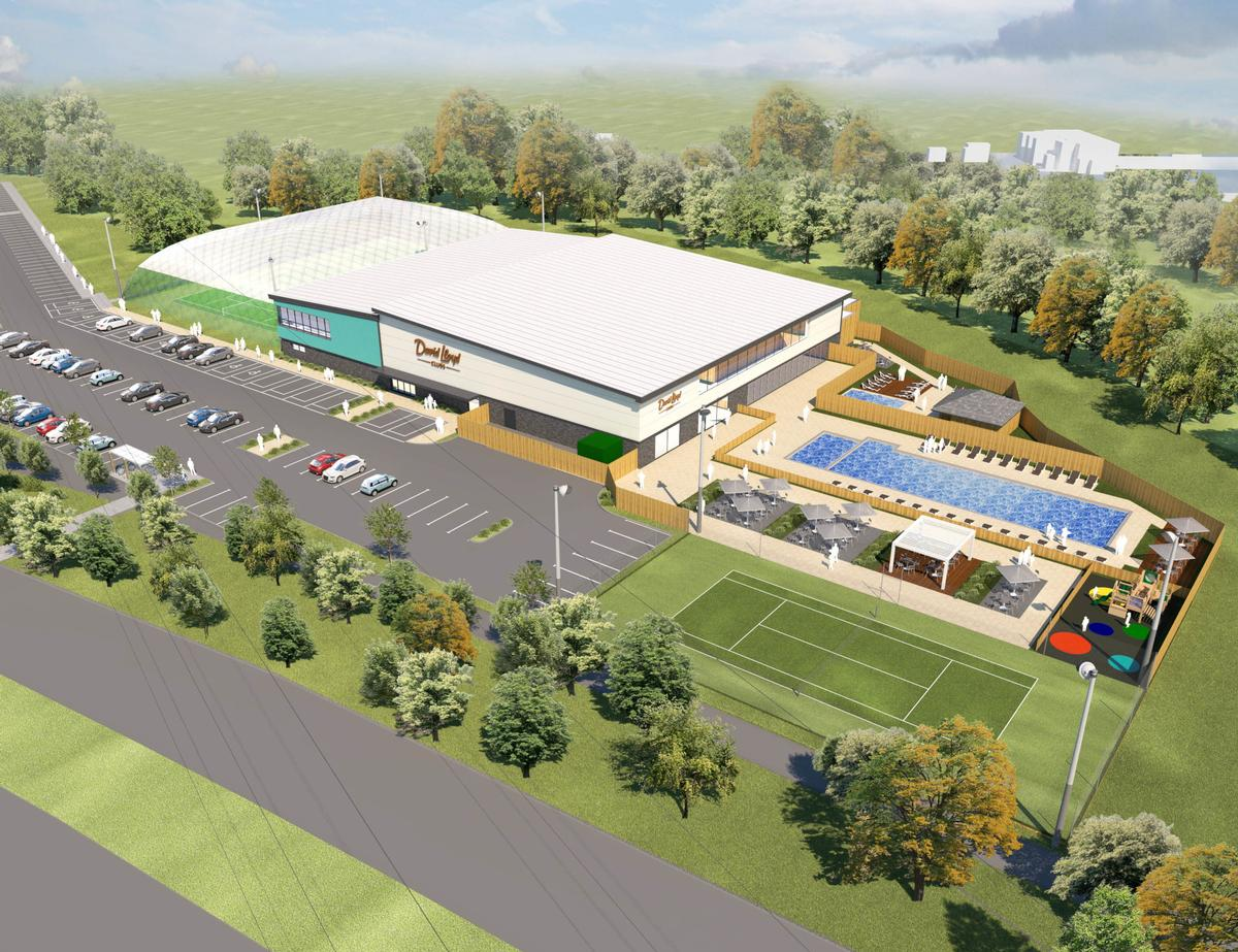 A rendering of how DLL's new club at Emersons Green, Bristol will look. / David Lloyd Leisure