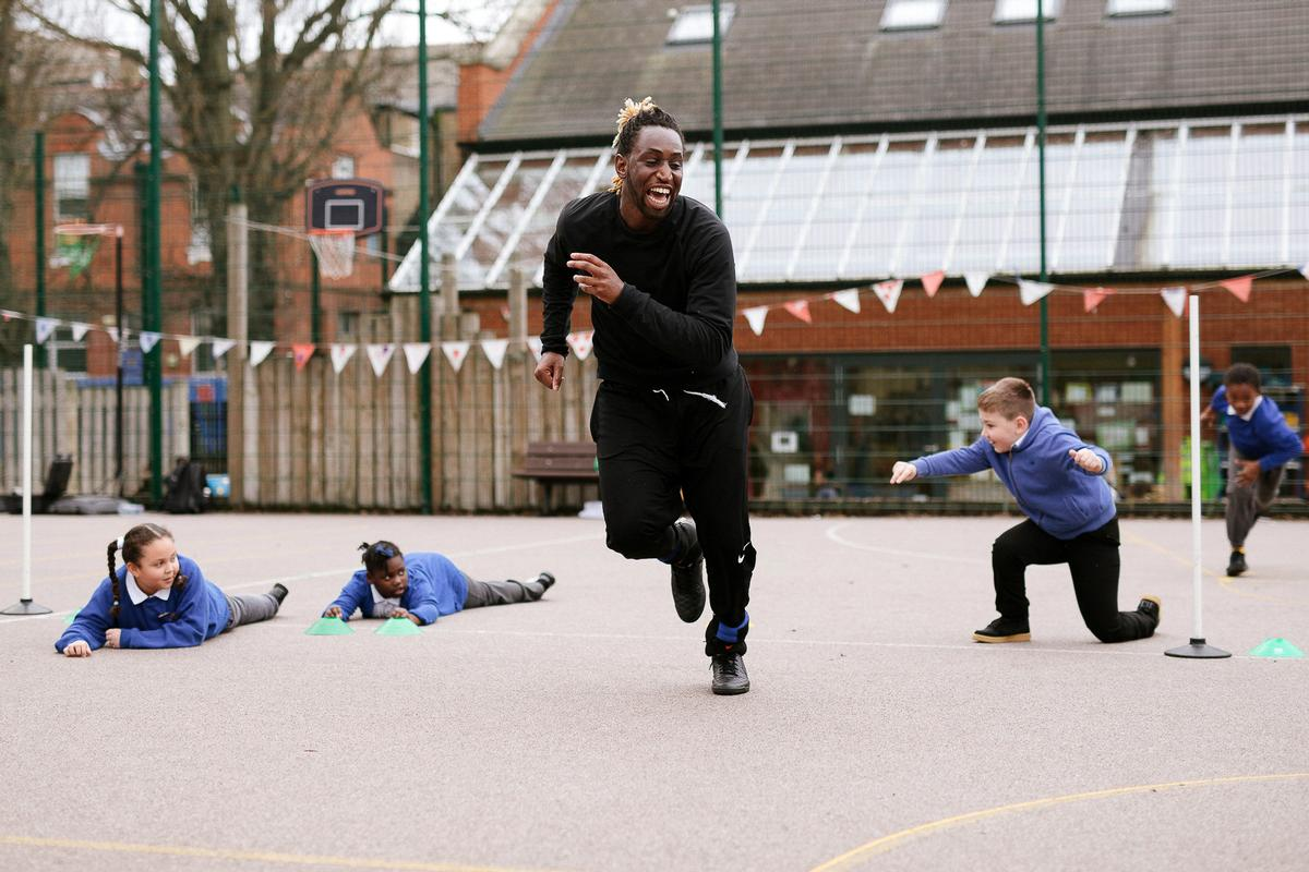 "The Active School Hero scheme aims to identify ""heroes"" in every London borough"