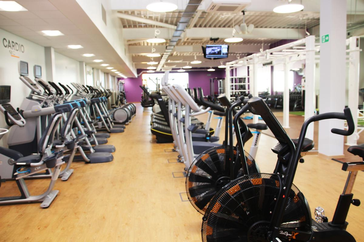 The centre includes a 120-station gym and fitness studio
