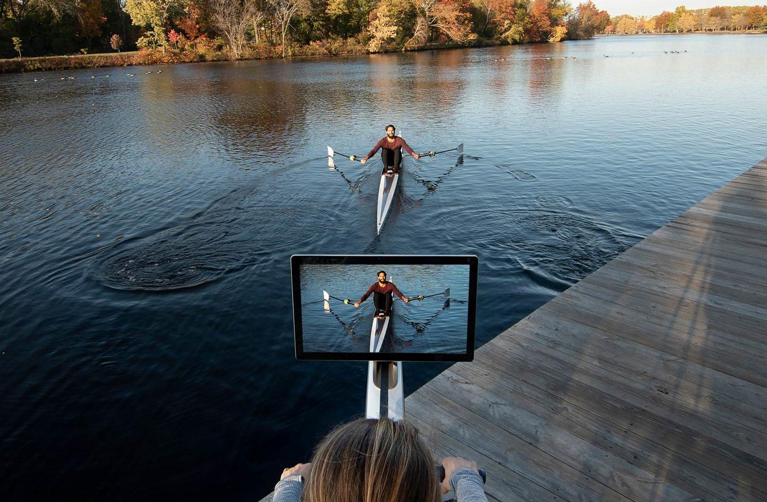 Hydrow was founded in 2017 by Bruce Smith, an entrepreneur and coach of the US National Team Rowing team