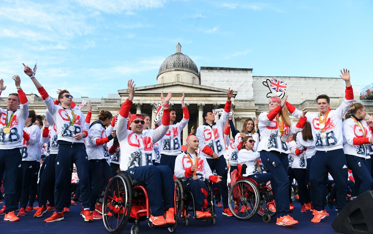 GB has enjoyed unparalleled Paralympic and Olympic success in recent times / Dominic Lipinski/PA Archive/PA Images
