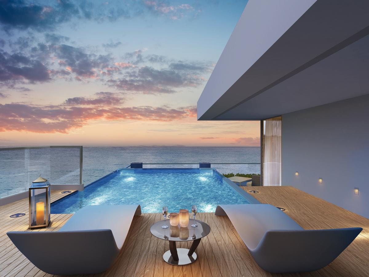 The property will feature 47 residences, some of which will have plunge pools. / Courtesy of Serenia Residences