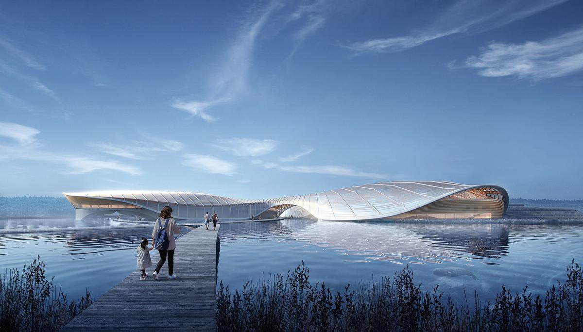 The project is expected to be completed in 2021. / Courtesy of Ennead Architects