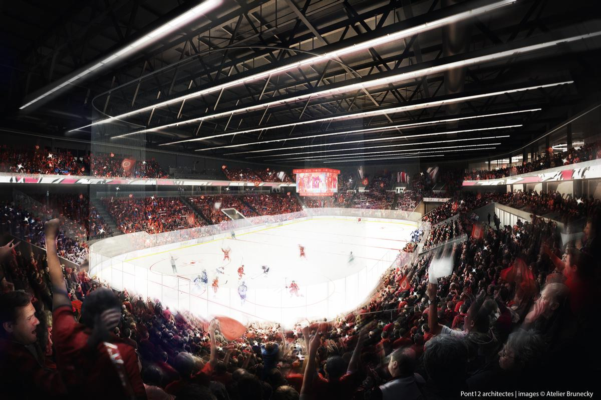 The Malley Sports Center will serve as one of several venues for the 2020 Youth Winter Olympics. / Rendering by Atelier Brunecky