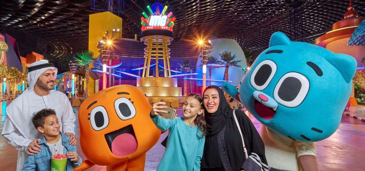 A number of theme parks have come to the UAE in recent years as part of the country's efforts to reduce its dependence on oil and improve its tourism standing