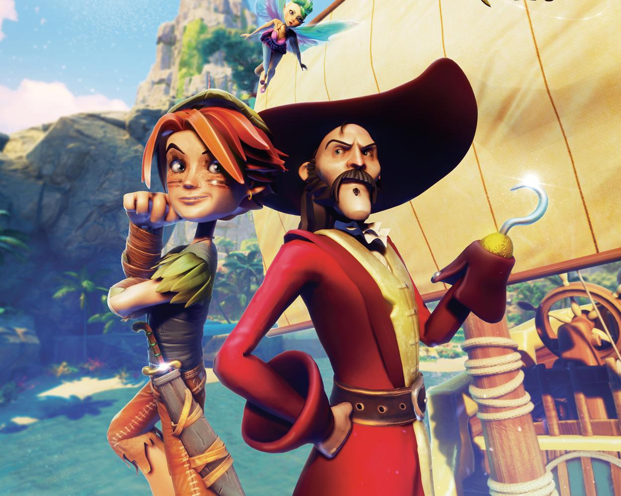 Peter Pan – Saving Tinkerbell is a CGI ride film that reinterprets the much-loved classic for the attractions industry