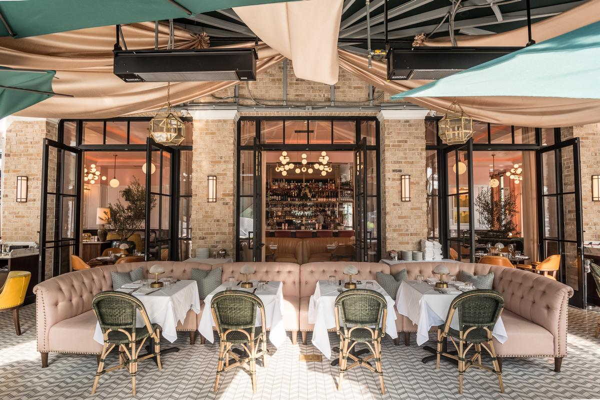 The brasserie is Fettle's first completed project in the US. / Courtesy of Fettle