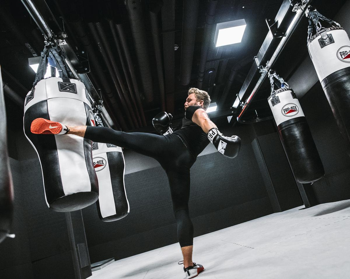 Combat fitness spaces are usually bespoke and specific and need to cater to the needs of the gym and its members