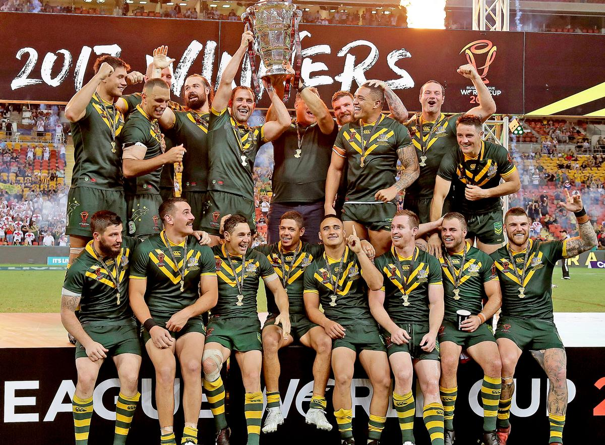 Australia won the 2017 Rugby League World Cup, beating England in the final