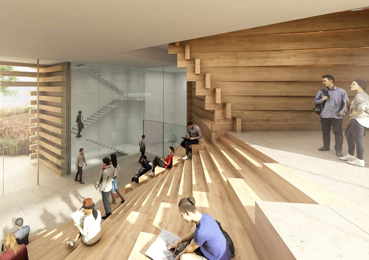 OMM is scheduled to open its doors in June. / Courtesy of Kengo Kuma