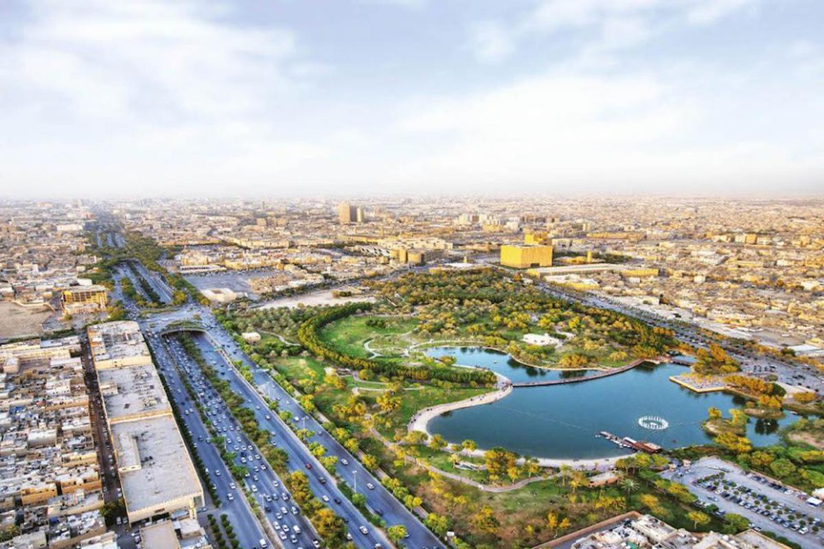 More than seven million trees will be planted in the Saudi capital through the Green Riyadh project