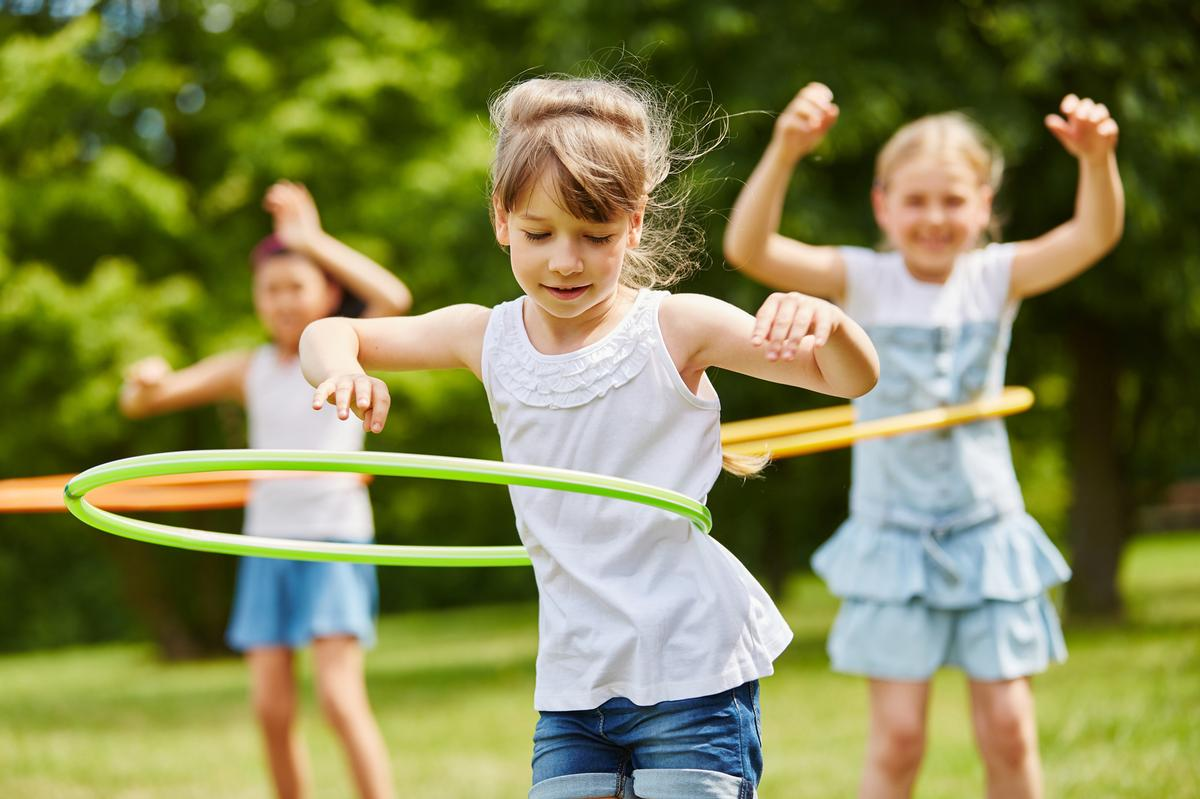 The study found that physically literate children do twice as much activity