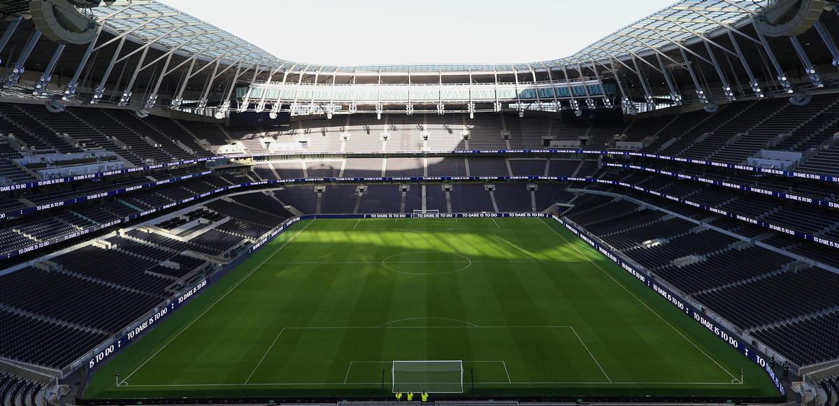 The arena can accommodate over 62,000 spectators. / Courtesy of Tottenham Hotspur