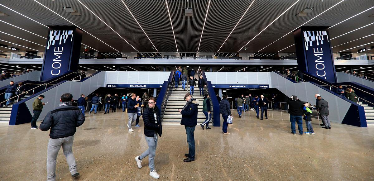 Fans were given a preview of the facility last December. / Courtesy of Tottenham Hotspur