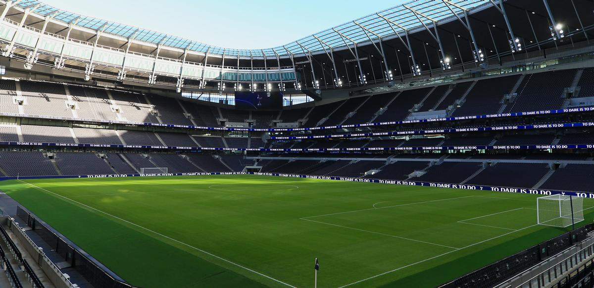 The project took three years to complete. / Courtesy of Tottenham Hotspur