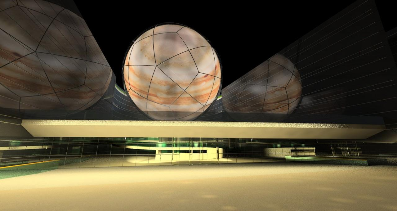 The initial planning and feasibility studies for it have been completed and the company behind Planetarium Wales, Dark Sky Wales, is now in the process of finalising those plans and taking consultations / Dark Sky Wales