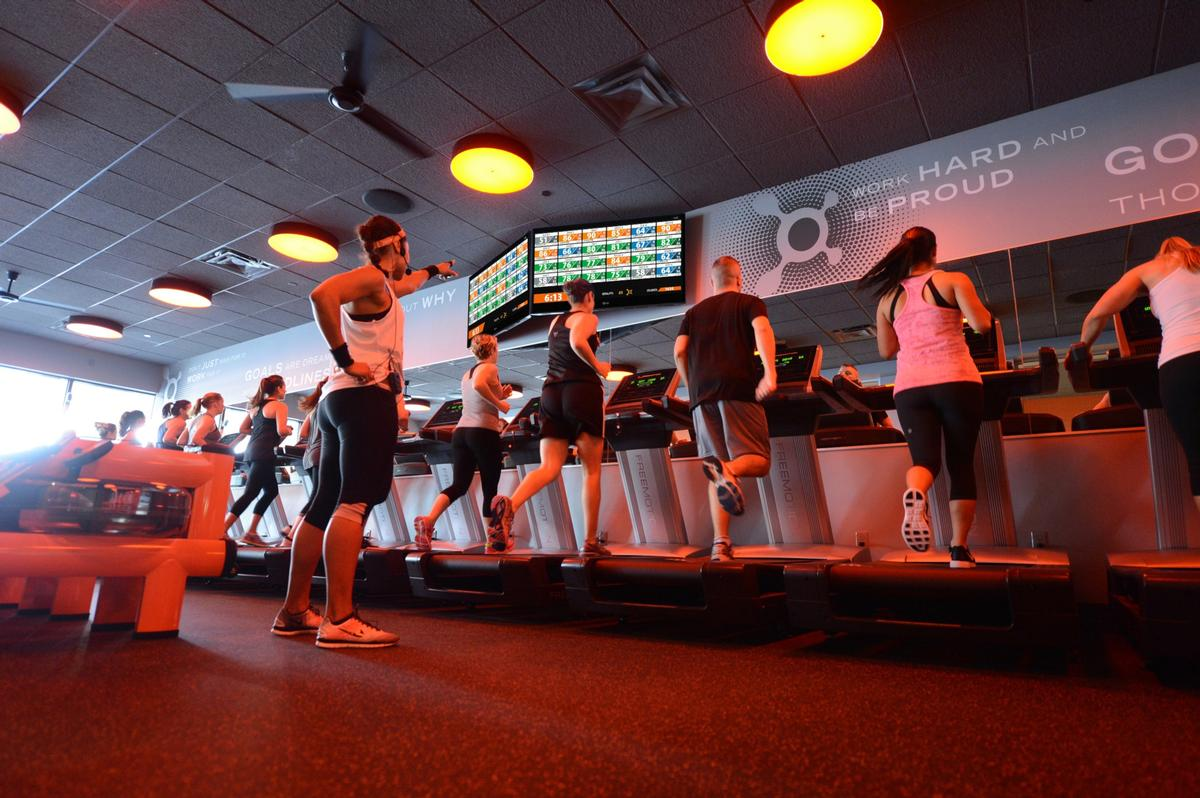 Orangetheory plans to open 40 sites over the next nine years, including in the Midlands and Northern England
