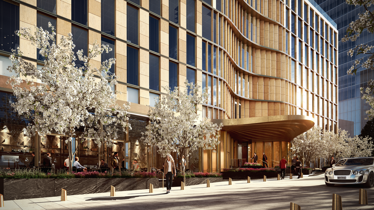 The hotly anticipated hotel will offer what Equinox has called a '360-degree' integrated programme of restorative health offerings. / Courtesy of Related Companies