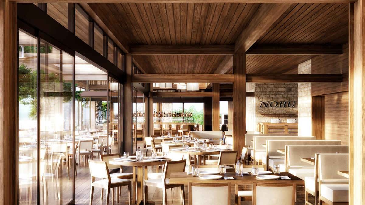 Nobu Hotel Los Cabos also features an organic farm and a signature restaurant specialising in Japanese cuisine. / Courtesy of Nobu Hotels
