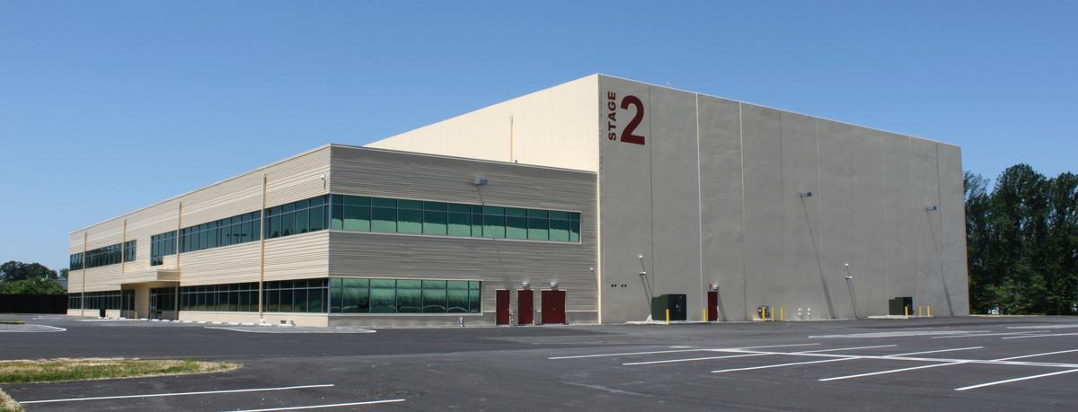 Sun Centre has 40,000sq ft (3,716sq m) of sound stages and 30,000sq ft (2,787sq m) of production offices at its premises / Sun Centre Studios