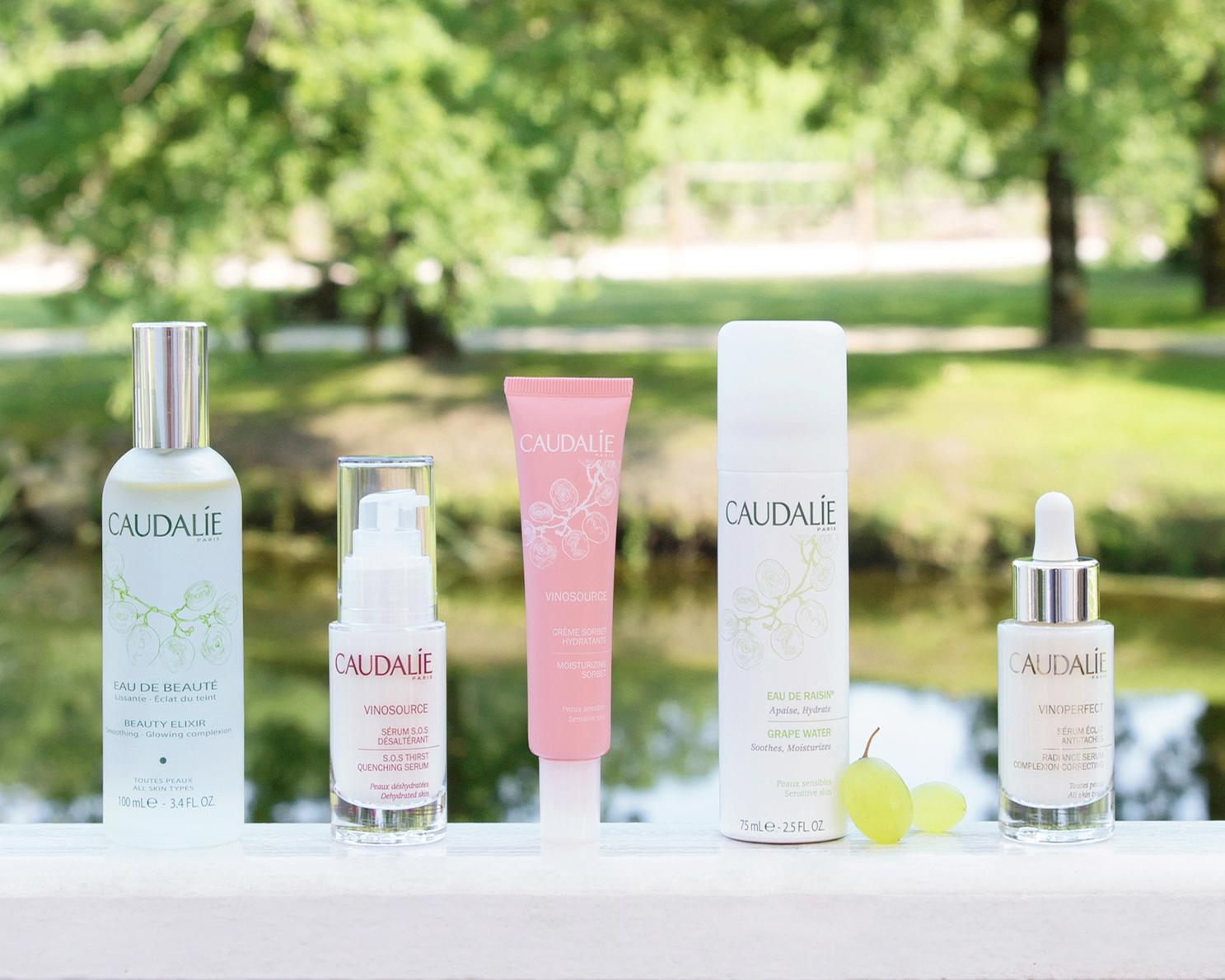 Caudalie launches at the Clearing Spa at the Cornwall Hotel today