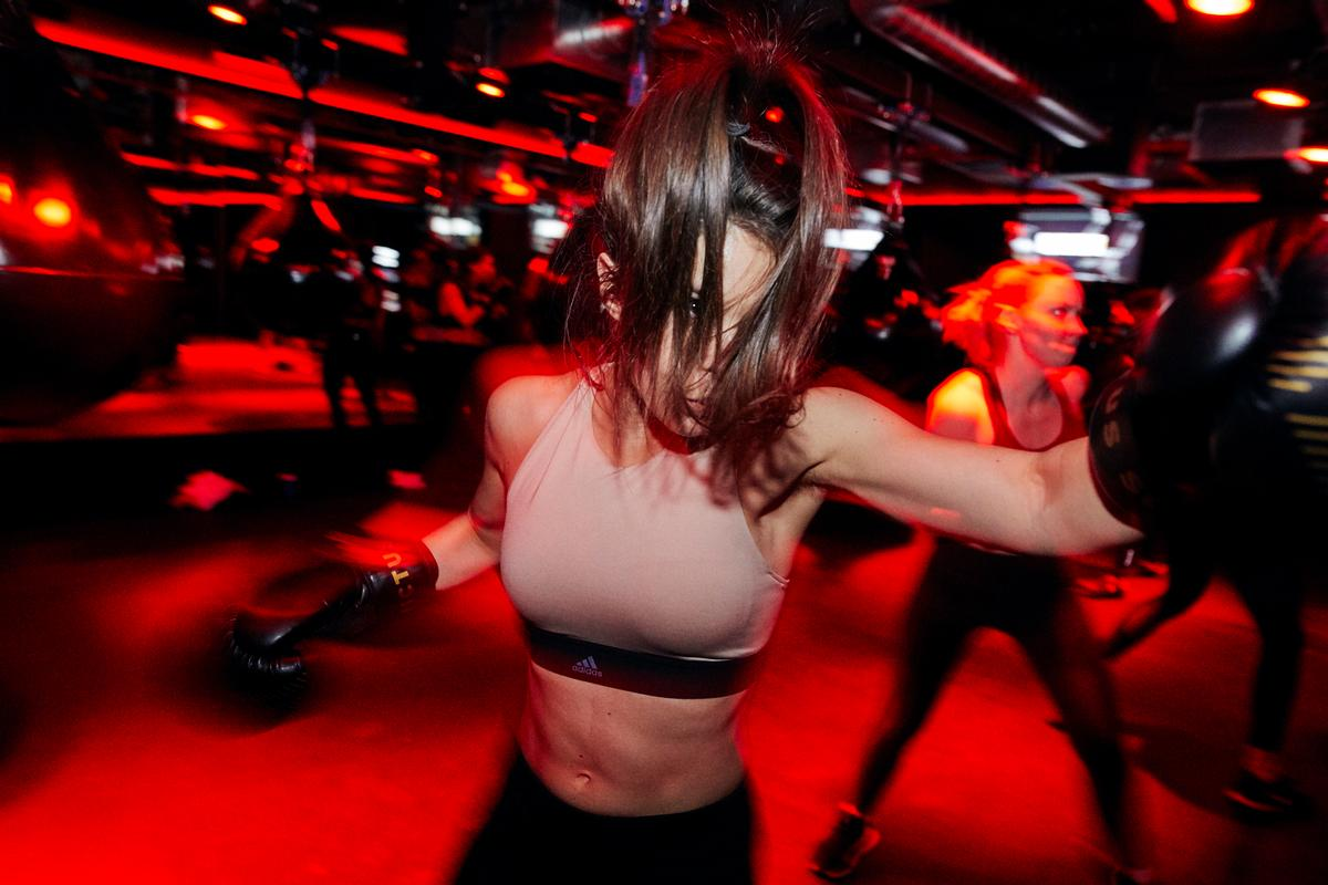 Boxing-inspired group exercise classes are a big part of Victus Soul's HIIT concept