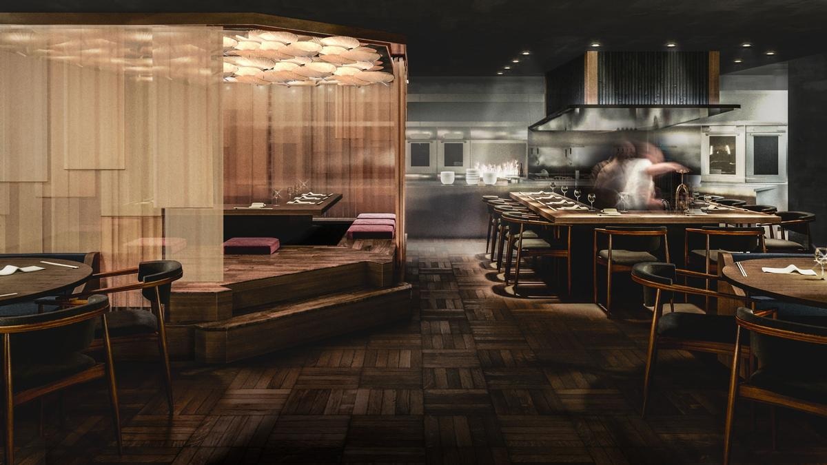 The new restaurant is scheduled to open in May. / Courtesy of Gordon Ramsay Restaurants