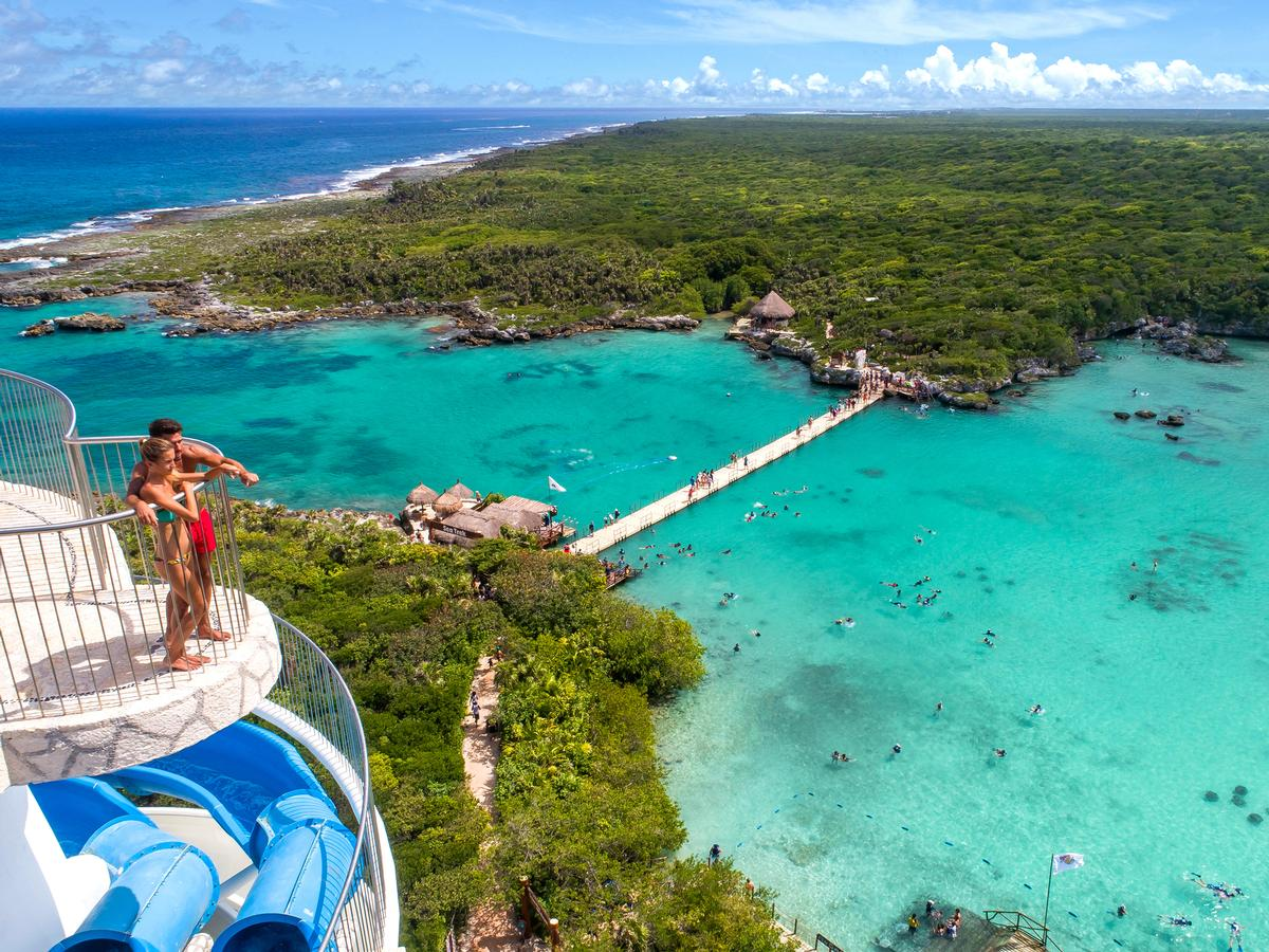 Xel-Há is one of Xcaret's current experiences