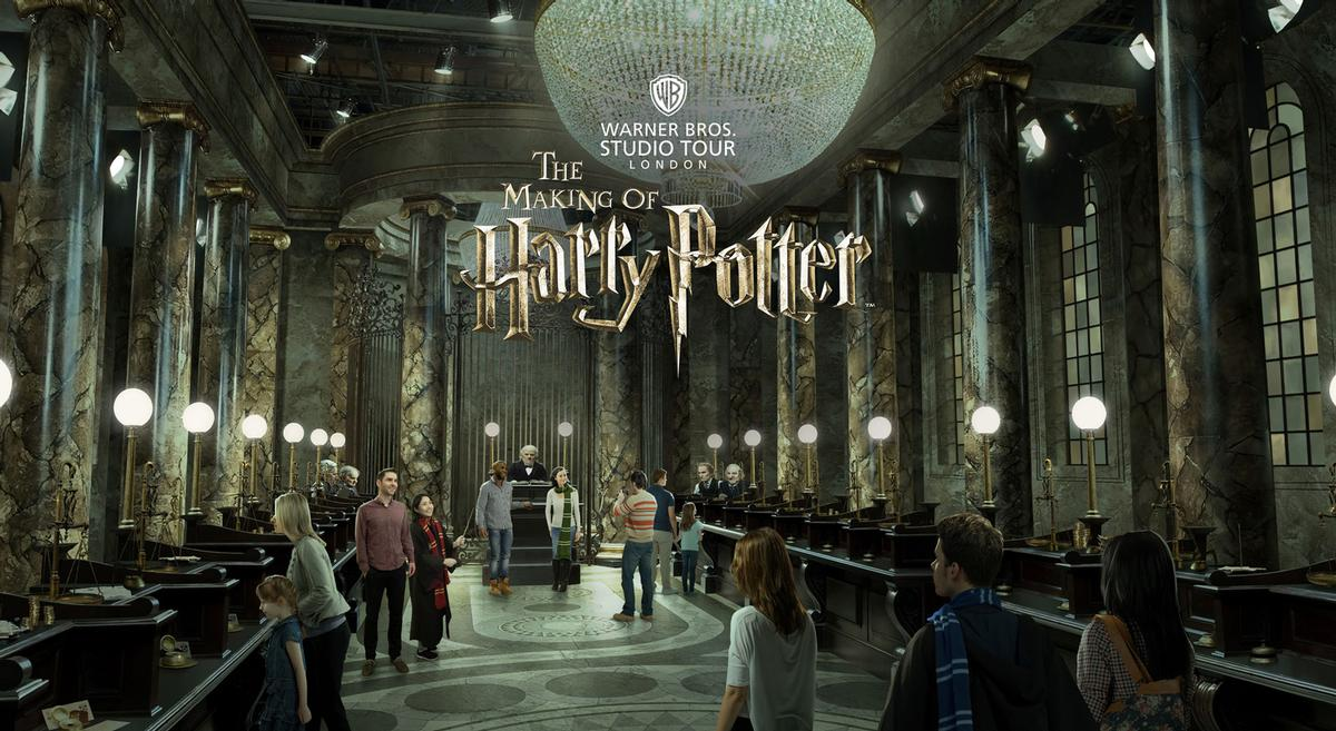 The Gringotts bank – run by goblins – features heavily in the Harry Potter universe