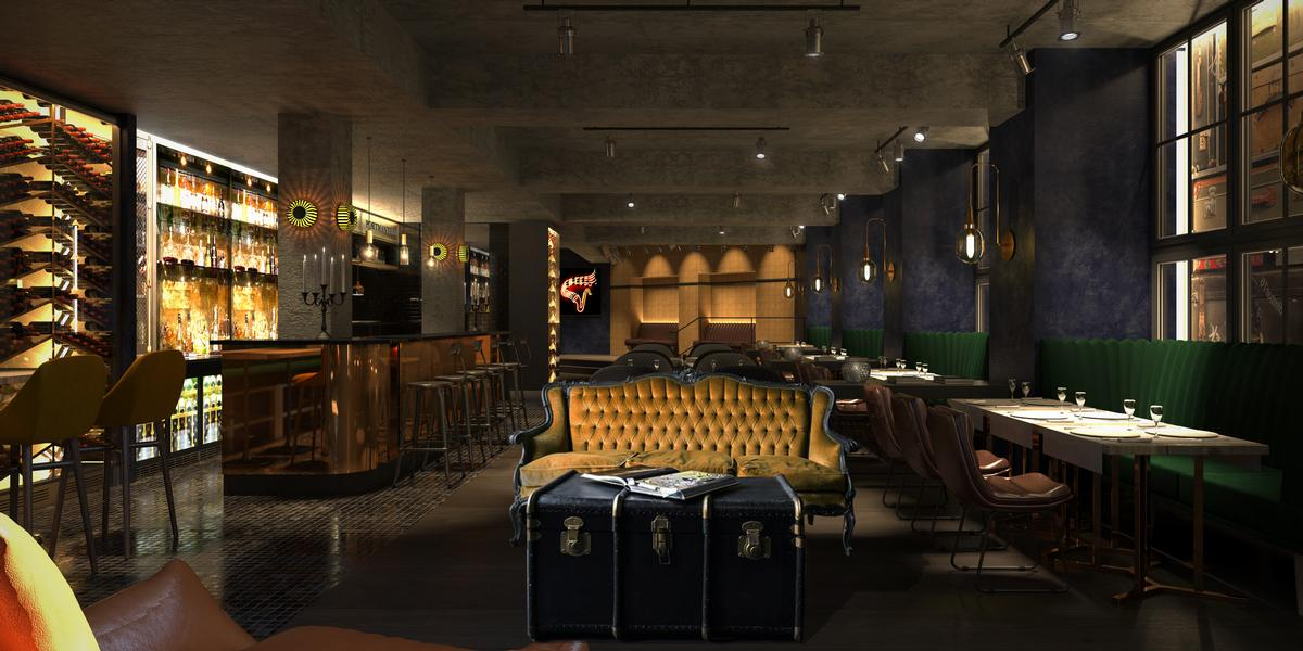 Amerikalinjen's on-site jazz club pays tribute to the late-night clubs of Prohibition-era New York. / Courtesy of Nordic Choice Hotels