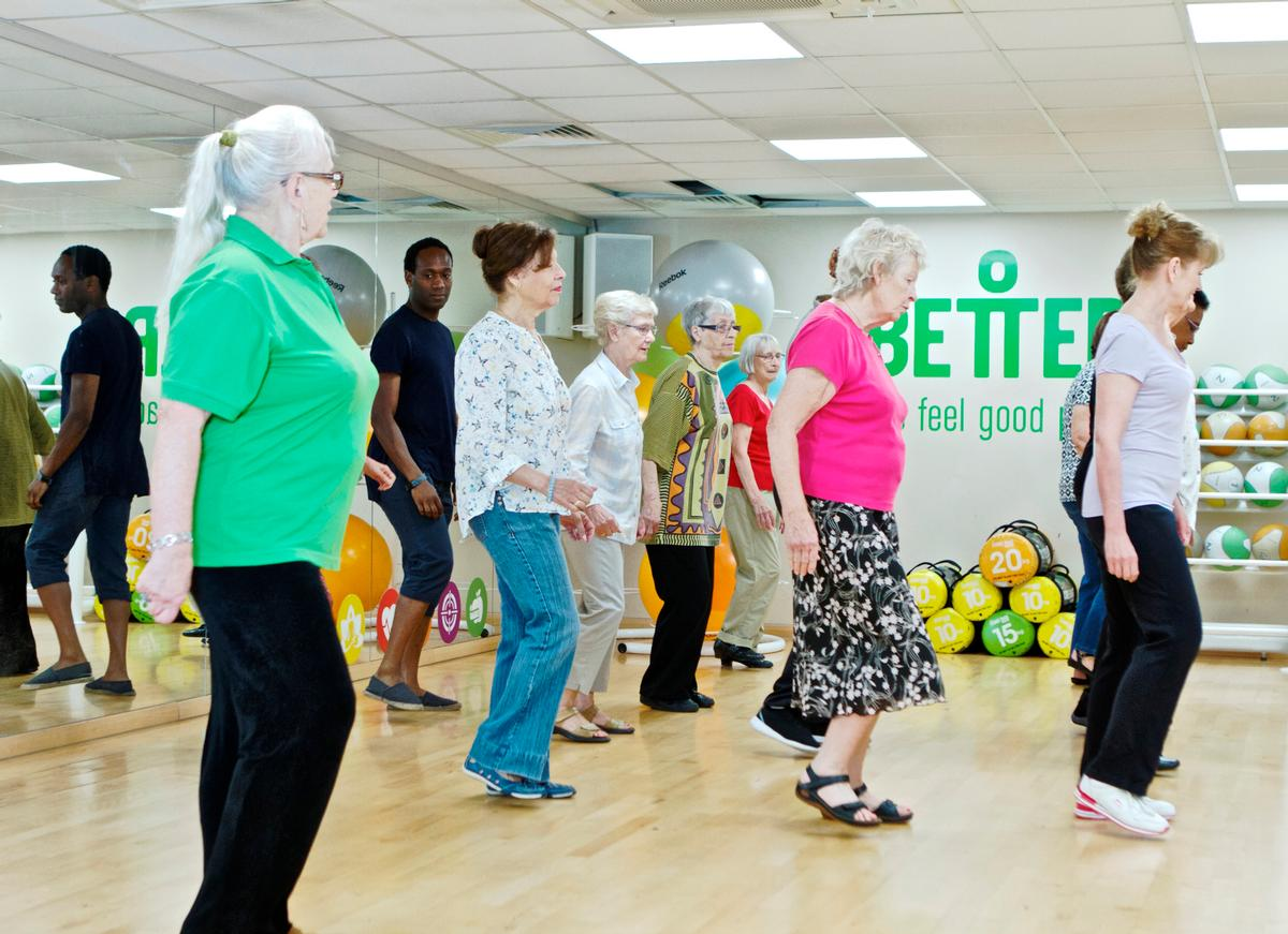 People place increasing importance on improving and maintaining their physical health as they get older