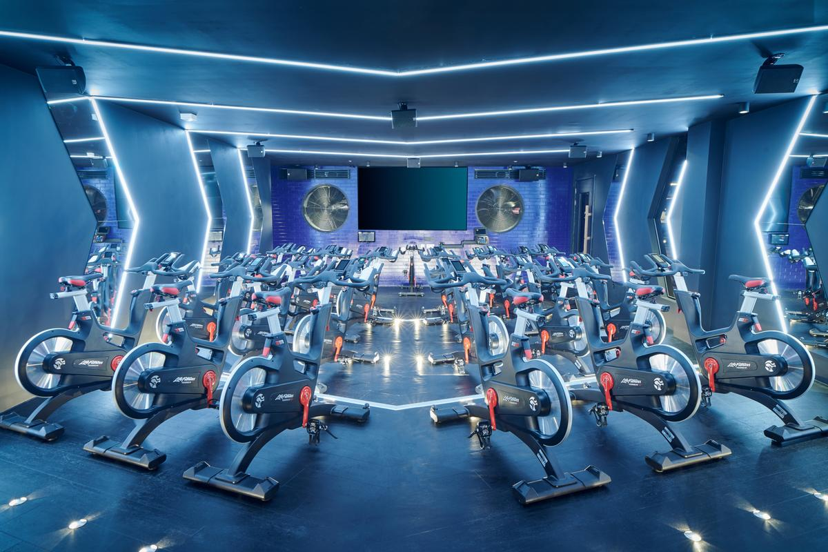 Third Space in London has invested heavily in group exercise areas / Third Space