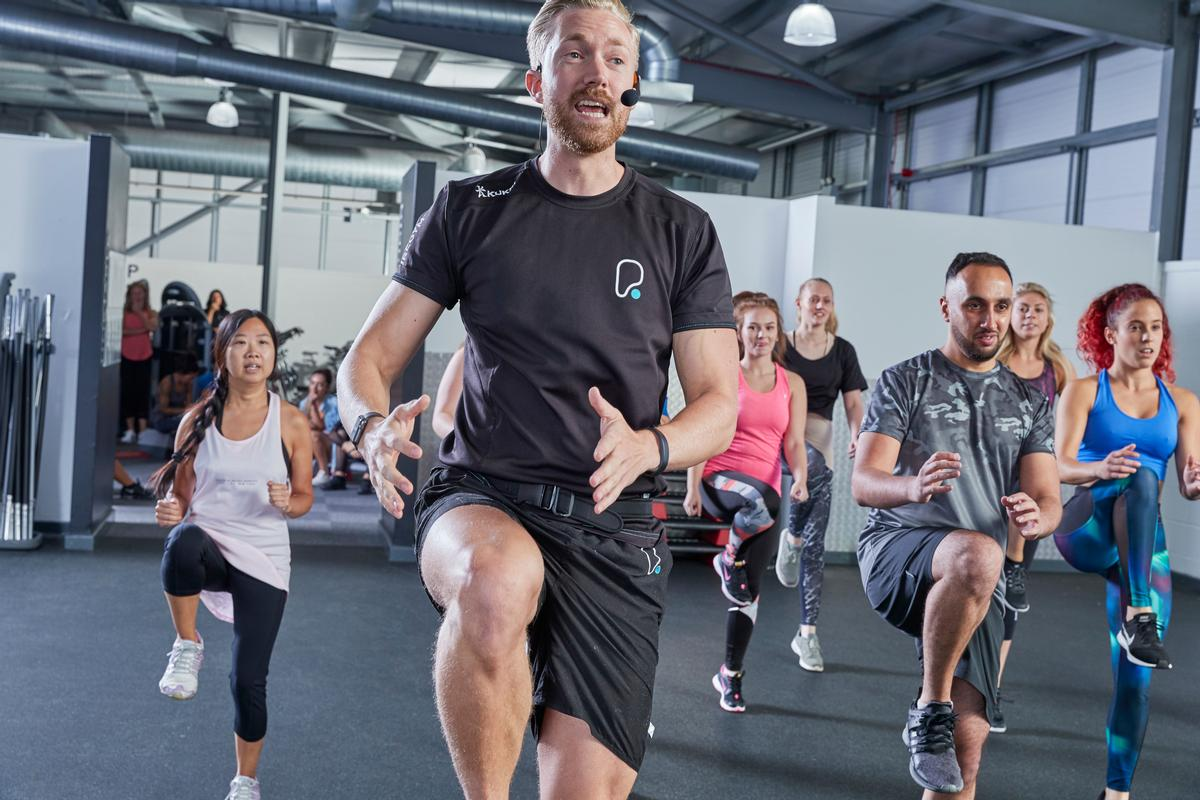 Group exercise classes have grown in importance for health clubs / Pure Gym