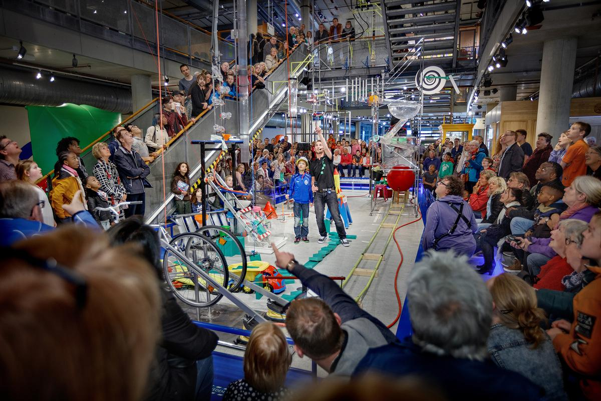 The NEMO Science Museum in Amsterdam welcomed approximately 665k visitors last year