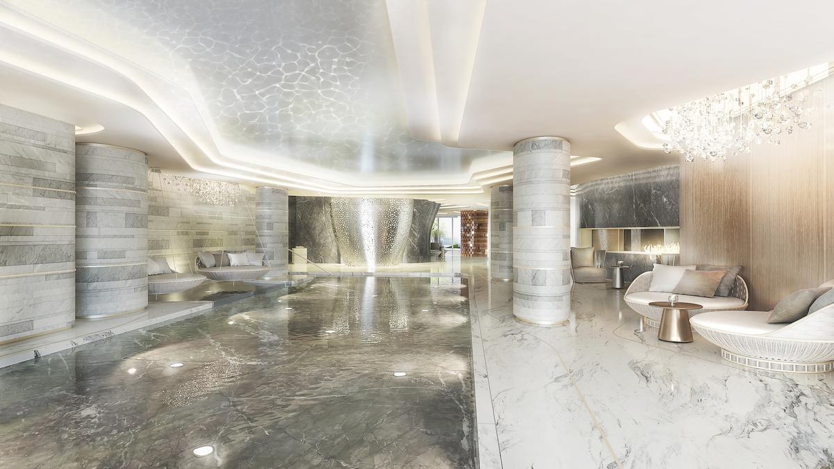 The flagship ESPALife Spa will be an impressive 5,000sq m (53,820sq ft), with a concept that offers a holistic approach to mind, body and spirit