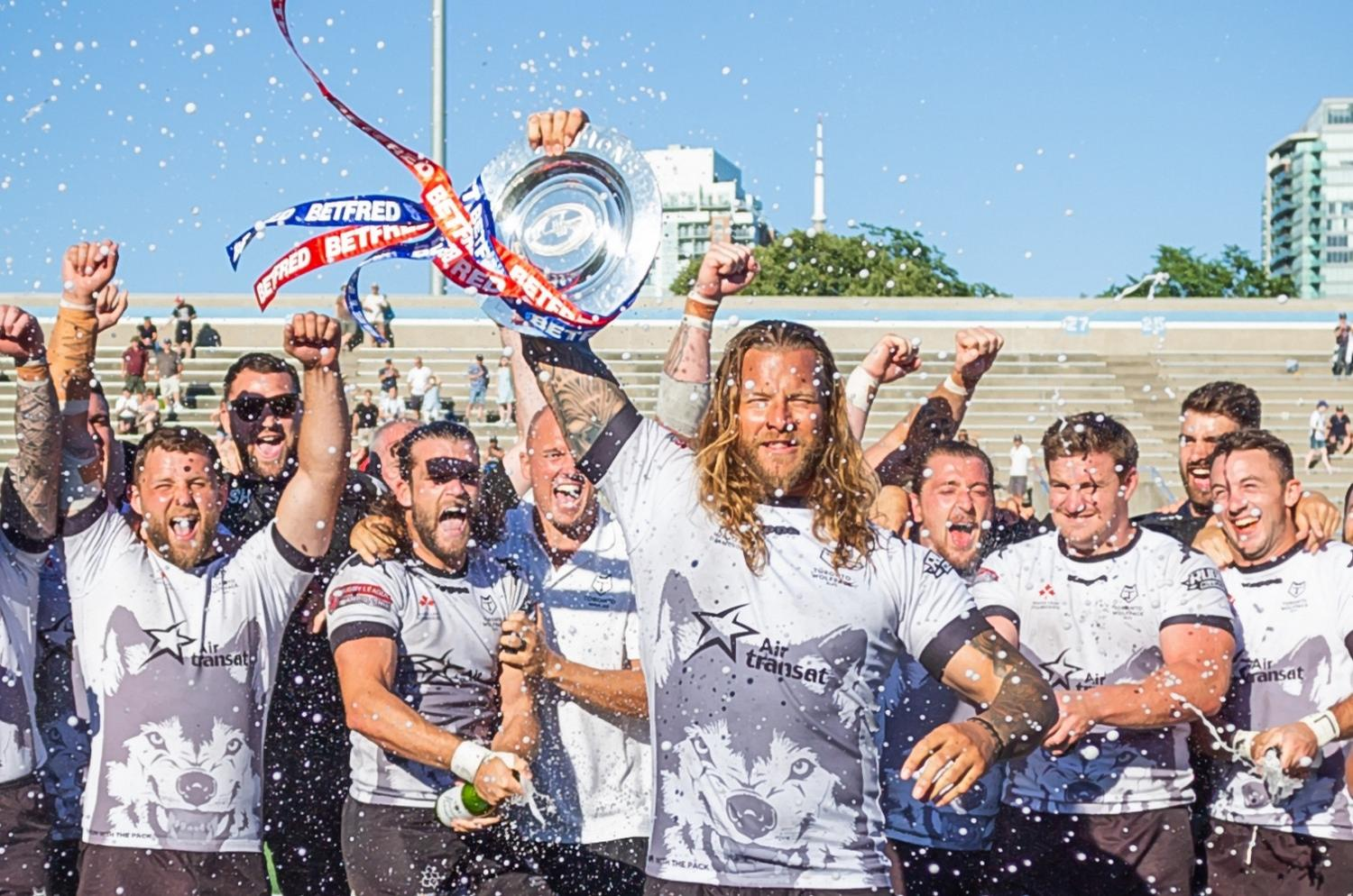 The first overseas club in the RFL, the Toronto Wolfpack, won promotion to the Championship in its first season / RFL
