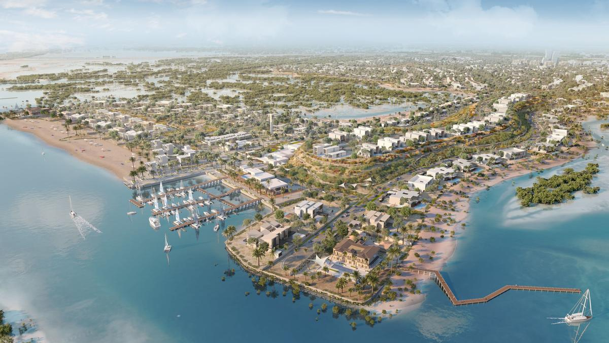The development will feature wildlife sanctuaries, hiking and cycling paths, and various other recreational and leisure spaces. / Courtesy of JIIC