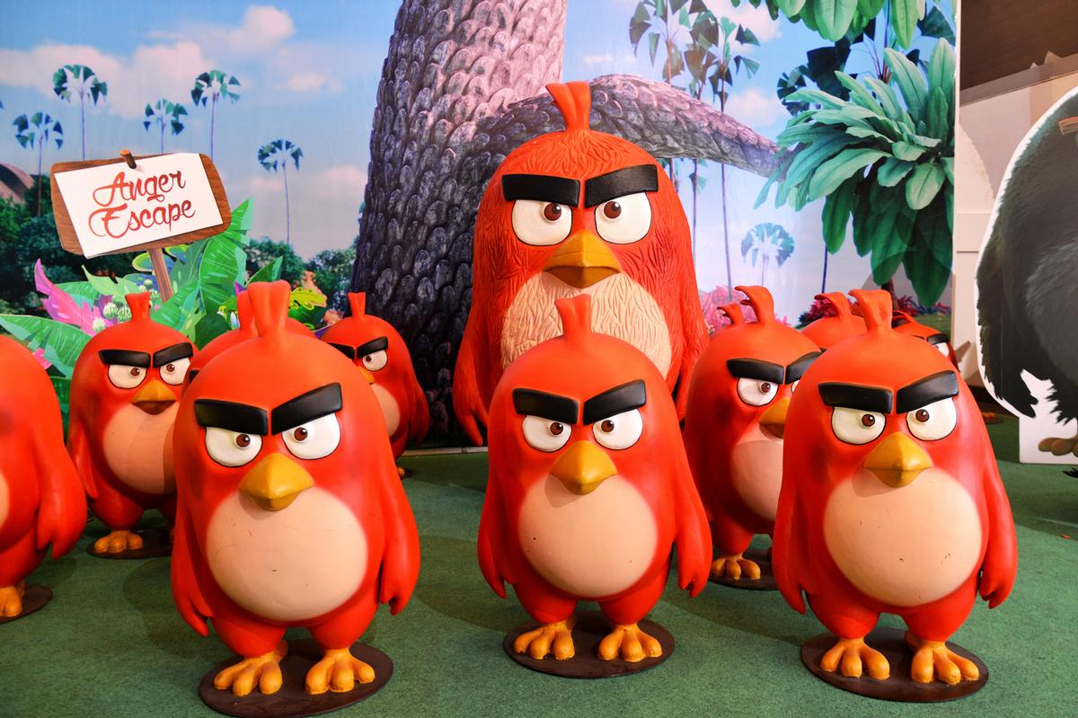 Angry Birds Adventure Golf will launch at the intu Metrocentre in September 2019 / ©shutterstock