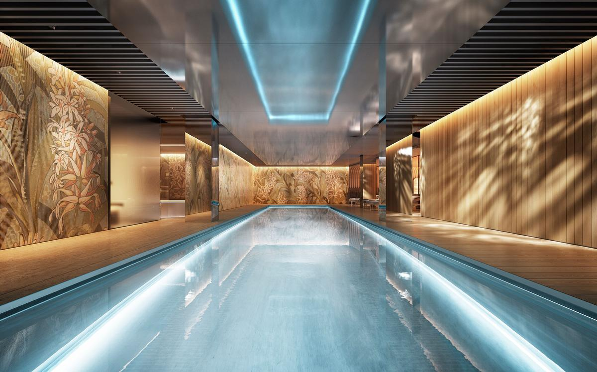 Set to be managed by the Dorchester Collection hospitality brand, The Mayfair Park Residences are on track to be completed in 2020. / Courtesy of Clivedale London