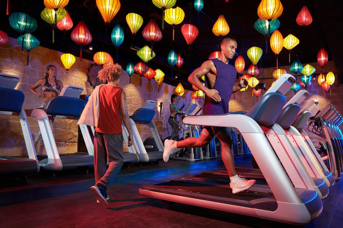 One of RSG's fitness brands, John Reed, focuses on music alongside training, with live DJs / RSG