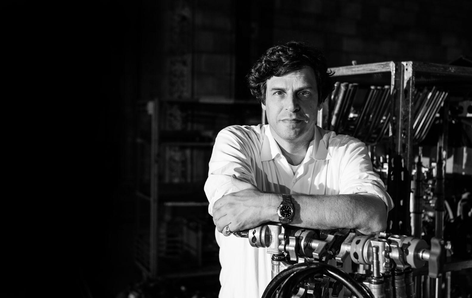 Anthony Geffen set up Atlantic Productions in 1992