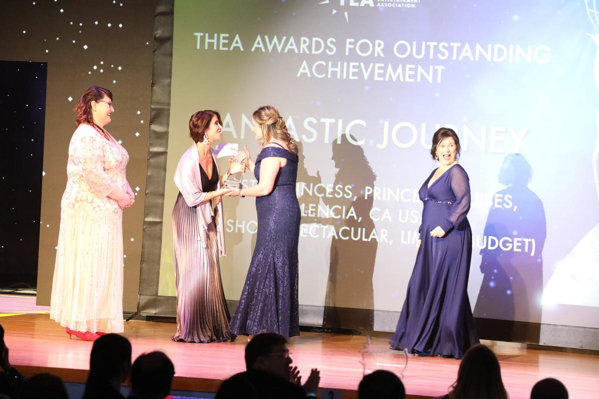 The winners of the 25th Annual Thea Awards were recognised at the Gala following the summit, with the black-tie event honouring themed entertainment's finest achievements and greatest contributors / TEA