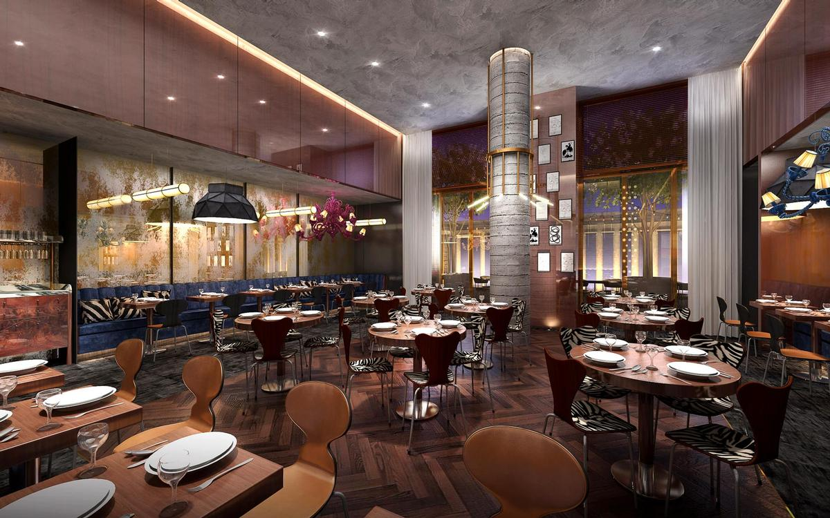The hotel's on-site dining concept specialises in Latin cuisine. / Courtesy of Marcello Pozzi