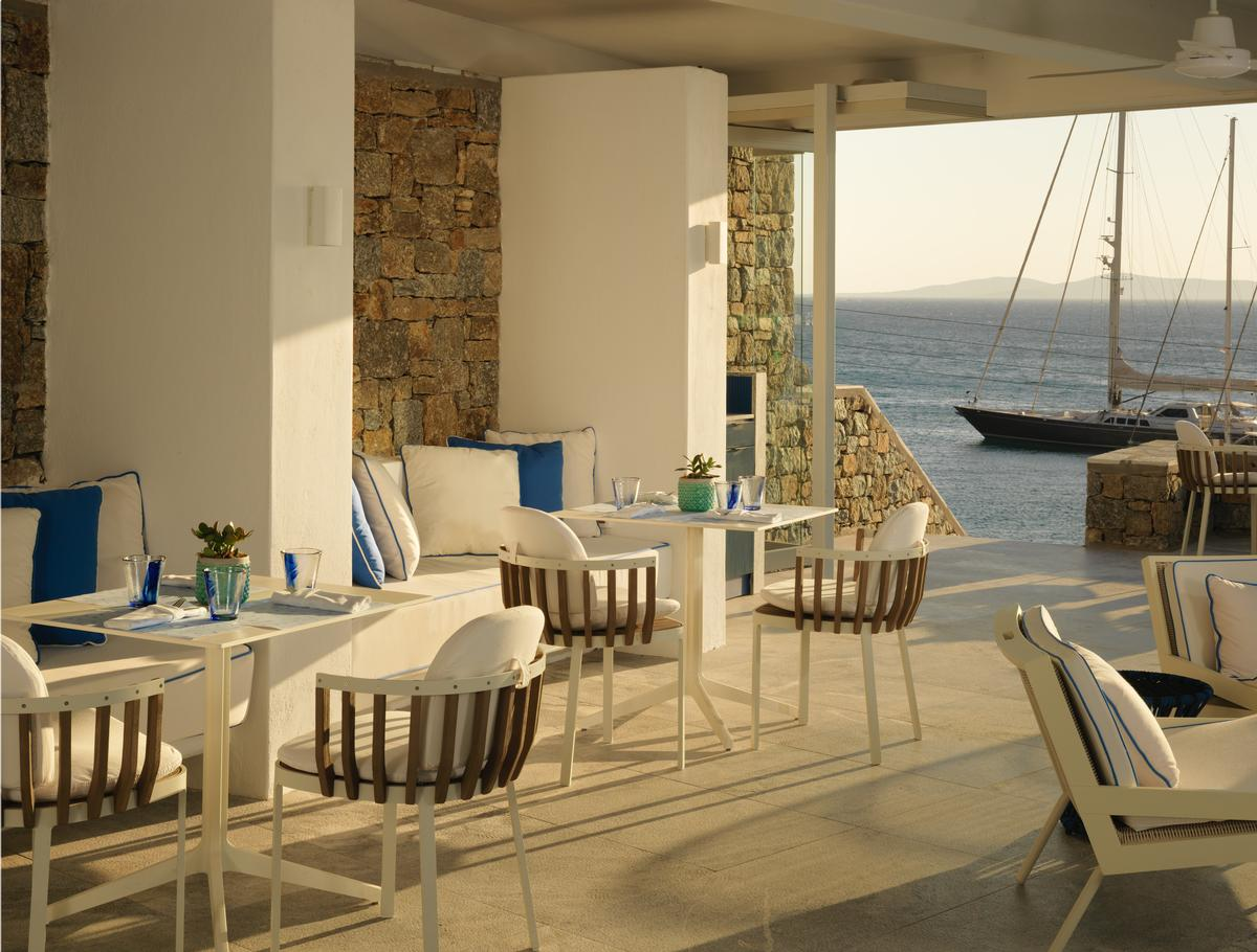 The retreat also boasts two restaurants and a sunken library. / Courtesy of Niall Clutton