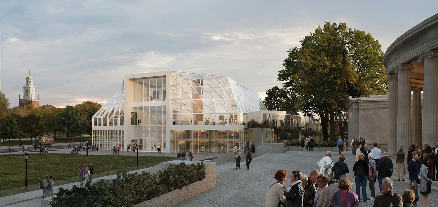 OMA are serving as the lead architects for the gallery's overhaul. / Courtesy of the Albert-Knox Art Gallery