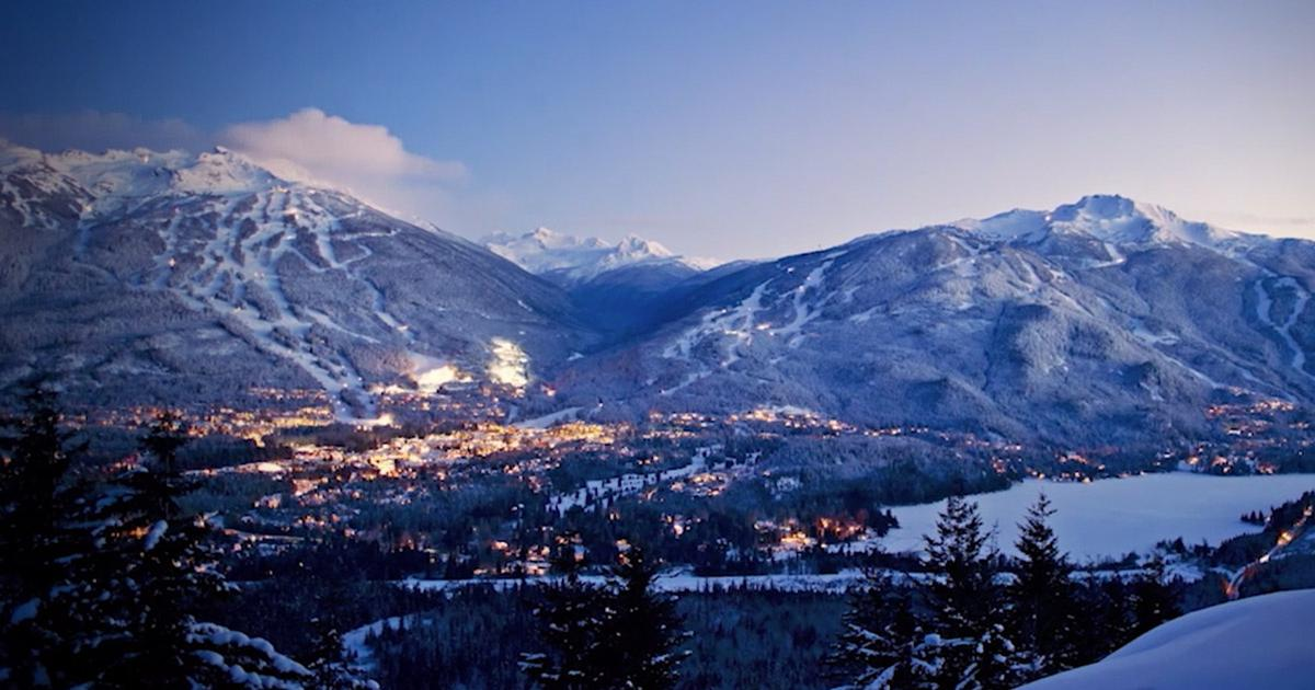 Canada's Whistler has become much more than just a ski resort / Whistler.com
