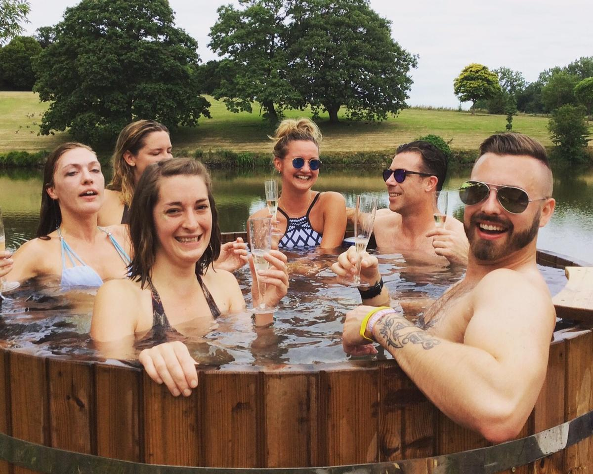 Wild Spa takes the traditional spa experience into the great outdoors